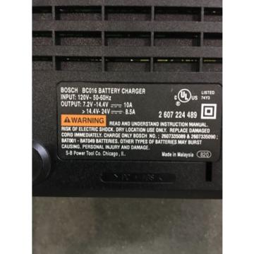 Bosch BC016 Battery Charger