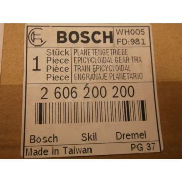 New BOSCH Service Parts 2606200200 Epicycloidal Gear Train (A42)