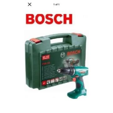 Bosch PSR18 18v Cordless Drill Driver *Bare Unit* + Carry Case
