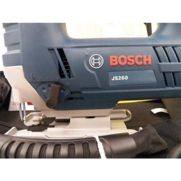 Bosch JS260 Jig Saw W/ Soft Case and Manuals