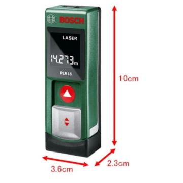 Digital Laser Rangefinder PLR15 Bosch from Japan New