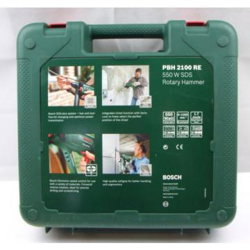 Bosch PBH 2100 RE 550W SDS PLUS Rotary Hammer Drill NEW *FREEPOST*