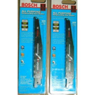 Bosch SAPP6 6'' All Purpose reciprocating saw blades 4 packs of 5 blades NOS NIP