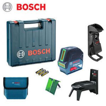 Bosch GCL2-15G Pro Green Beam Laser Self-Leveling Crossline Rotating Mount
