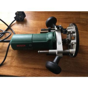 Bosch POF 500A Plunge Router With Fence. 500 Watt. Swiss Made.