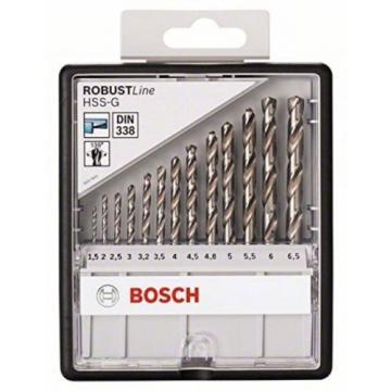 Bosch 2607010538 135 Mm HSS-G Drill Bits (13-Piece)