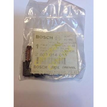 NEW OEM BOSCH CARBON BRUSH SET PN: 2607014015