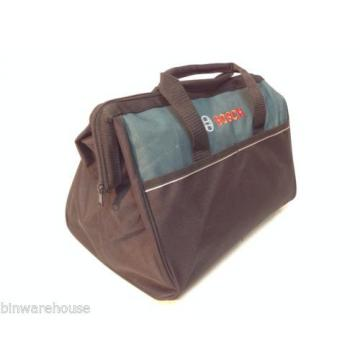 "New Bosch 16"" Canvas Carring Tool Bag  2610023279 For 18v Tools 2 Outside Pocket"