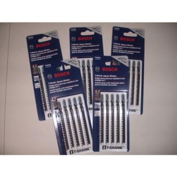 25 Piece Bosch T101D Jigsaw Blades 5-6 TPI High Carbon Steel T-Shank