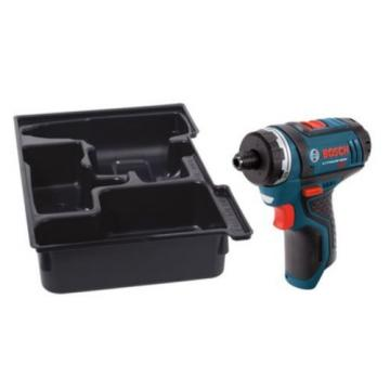 Bosch 12-Volt Max 1/4-in Variable Speed Cordless Drill Home Powerful Tool Only