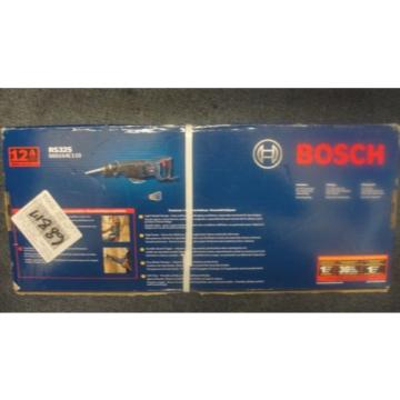 Bosch RS325 12-Amp Reciprocating Saw- 120V 60Hz