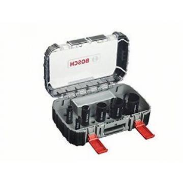 Bosch 2608580871 - Set sega a tazza, rapida, per costruzioni multiple, 9 pz