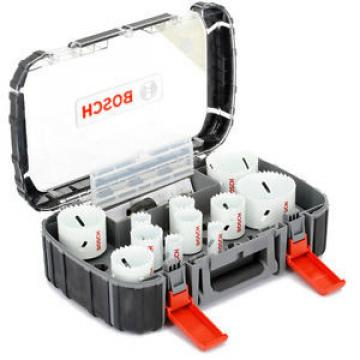BOSCH Holesaw 11 Piece Set - 19/22/25/32/35/38/44/51/57/64/76mm - Power Change