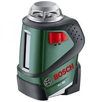 Bosch PLL 360 - Laser a linea visibile + cavalletto + borsa  (linea laser 360°)