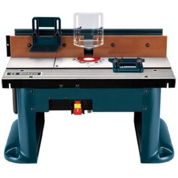 NEW Bosch Professional Benchtop Router Table woodworking Routing Designed