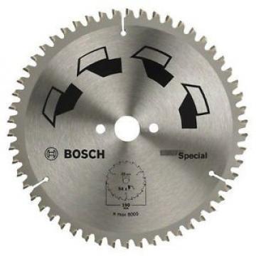Bosch 2609256891 Special Lama per Sega Circolare, 190 x 2 x 20/16, 54 Denti