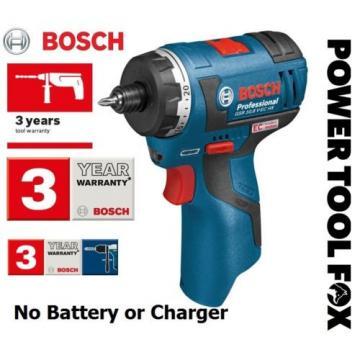 Bosch -GSR10.8 V-EC HX 2 SPD BARE Cordless Screwdriver 06019D4102 3165140739252-