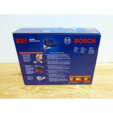 Bosch JS260 Top-Handle Jig Saw 6Amp Corded Variable Speed Toolless Brand New