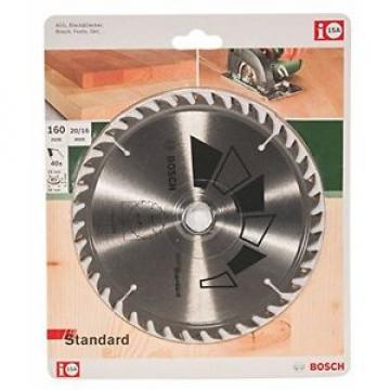 Bosch Basic 2609256811 - Lama per sega circolare 160 x 2,2 x 20 / 16, ø 40