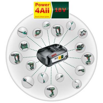 Bosch GREENTOOL Power4ALL 18V 2.5AH Lithium.ION Battery 1600A005B0 3165140821629
