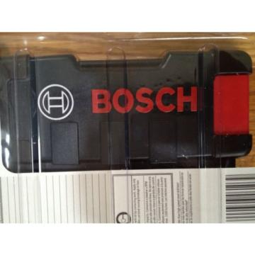 BOSCH 21-PC BLACK OXIDE TWIST DRILL BIT SET WITH CASE NEW