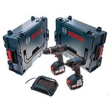 Bosch 0615990H0P - Batteria li 18 v con sistema di ricarica wireless in l-boxx