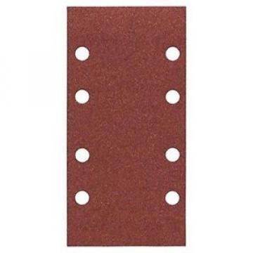 Bosch 2 608 605 306 Carta Abrasiva Forata, Grana 120