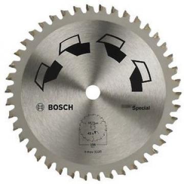 Bosch 2609256898 - Lama speciale per sega circolare, 42 denti, carburo, diametro