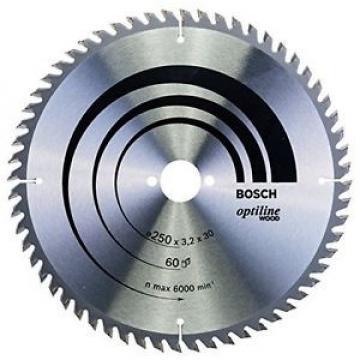 Bosch 2608640729 - Lama per sega circolare, 250x30, 60 denti