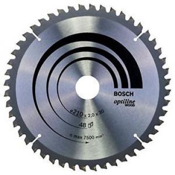 Bosch 2608640430 Optiline Lama Circolare, 210 x 30, 48D