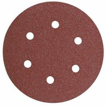 "BOSCH SR6R242 6"" 240 Grit 6 Hole Hook-And-Loop Sanding Discs (25pk)"