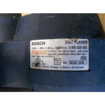 Bosch 3365 5 Amp Planer