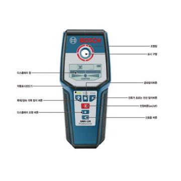 BOSCH GMS120 Professional Wall Detector Multi Material Cable WallScanner