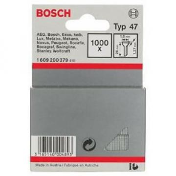 Bosch 1609200379 - 1.000 x Chiodi tipo 47, 1,8 x 1,27 x 26 mm