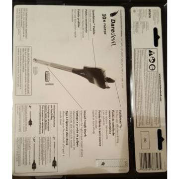 Bosch Daredevil DSB5010 10-Piece Spade Bit Set