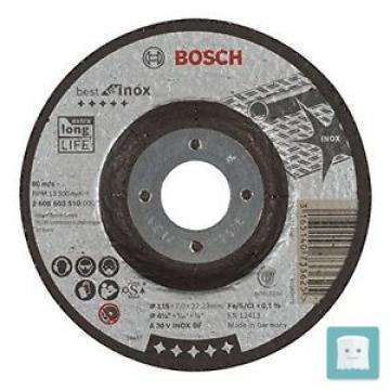 BOSCH 2 608 603 510 - DISCO ABRASIVO A STRATI BEST FOR INOX, A 30 V INOX BF 1...