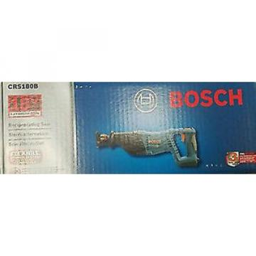 Bosch CRS180B 18 Volt Cordless Electric Variable Speed Reciprocating Saw