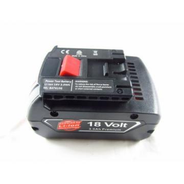 2xNew 18Volt Lithium battery for Bosch BAT609 BAT618 BAT620 18V Li-Ion FATPack