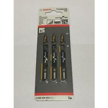 Bosch 2608630663  T118 AHM x3 Jigsaw blades