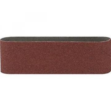 Bosch 2609256201 - Strisce abrasive per levigatrice a nastro, qualità rossa