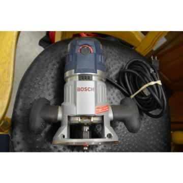 EXCELLENT Bosch 15Amp Variable Speed Combo Plunge & Fixed-Base Router MR23EVS