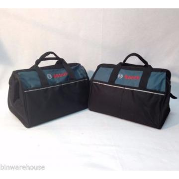 "New 2 Bosch 16"" Canvas Carring Tool Bag  2610023279 18v Tools 2 Outside Pocket"