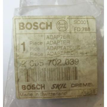 BOSCH 2605702039 adattatore originale per GEX 125 AC  PEX 400 A GEX 150 AC nuovo