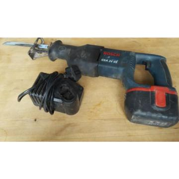 Bosch cordless gsa 24 ve heavy duty reciprotating saw tool