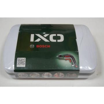 Bosch IXO 3.6 V lithium-ion cordless screwdriver