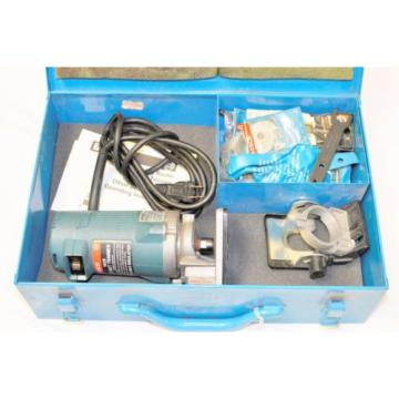 COMMERCIAL GRADE BOSCH 1609 OFFSET TRIMMER IN ORIGINAL CASE WITH ACCESSORIES
