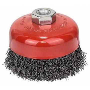 Bosch Zubehör 1608614011 - Spazzola conica 100 mm, 0,5 mm, 8500 giri al minuto