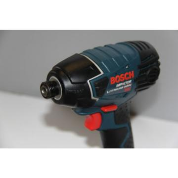 """BOSCH 25618 18 LITHIUM-ION 1/4"""" HEX IMPACT DRIVER + EXT. MUST SEE"""