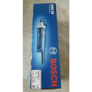 Bosch GGS 28 C Professional straight grinder 110v new