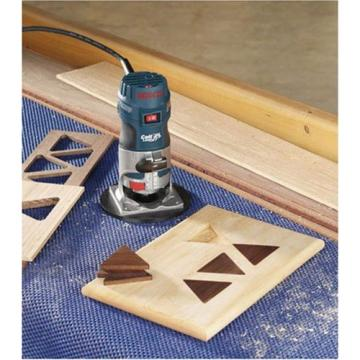 Bosch PR20EVSK Wood Router Corded Electric Fixed-Base 5.6 Amp 1-Horsepower